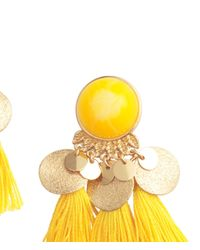 H&M - Metallic Earrings With Tassels - Lyst