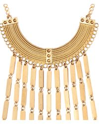 H&M   Metallic Necklace With Chains   Lyst