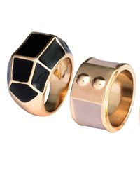 H&M - Metallic 3-pack Rings - Lyst