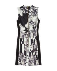 H&M | Black Patterned Dress | Lyst