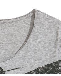 H&M - Gray Printed T-shirt for Men - Lyst
