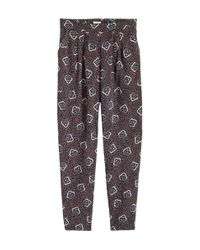 H&M - Brown Trousers Loose Fit - Lyst
