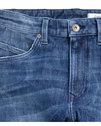 H&M - Blue 360° Tech Stretch Skinny Jeans for Men - Lyst