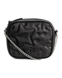 H&M Black Quilted Shoulder Bag