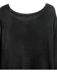 H&M - Black Boat-neck Jumper - Lyst