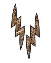 H&M | Metallic Lightning-shaped Earrings | Lyst