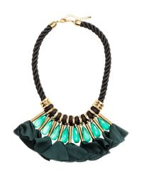 H&M | Blue Short Necklace | Lyst