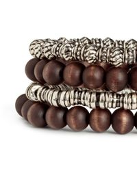 H&M - Metallic 4-pack Bracelets - Lyst