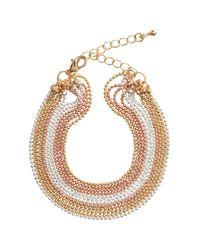 H&M | Metallic Multistrand Bracelet | Lyst