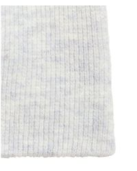 H&M - Gray Rib-knit Hat - Lyst