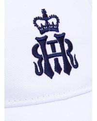 Hackett - White Henley Royal Regatta Casual Cap for Men - Lyst