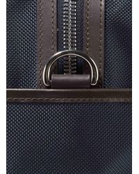 Hackett - Blue Leather N2 Utility Carry-all for Men - Lyst