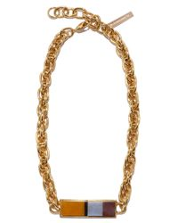 Lizzie Fortunato - Black Monte Alban Rope Necklace - Lyst