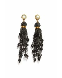 Lizzie Fortunato - Black Dance Hall Earrings - Lyst