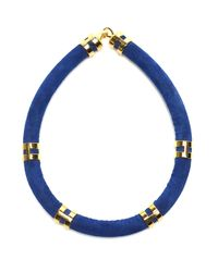 Lizzie Fortunato - Blue Double Take Necklace In Cobalt - Lyst