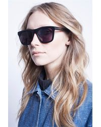 Karen Walker - Deep Freeze Sunglasses In Black - Lyst