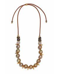 Marni - Multicolor Pippa Pearl Necklace - Lyst