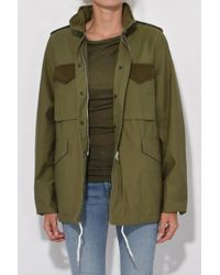 Rag & Bone - Green Ash Field Jacket In Olive - Lyst