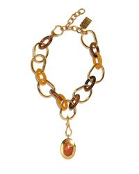 Lizzie Fortunato - Metallic Porto Link Necklace - Lyst
