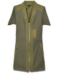 Rag & Bone - Green Woolf Dress In Dark Olive - Lyst