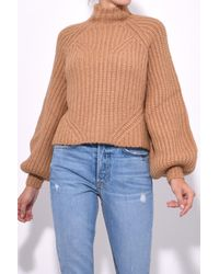 Ulla Johnson - Natural Micha Turtleneck In Camel - Lyst