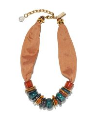 Lizzie Fortunato - Multicolor Out Of Africa Necklace - Lyst