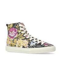 Gucci - Multicolor Blind Love High-top Sneakers - Lyst