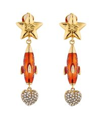 Dolce & Gabbana - Multicolor Missile Earrings - Lyst