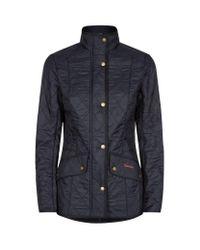 Barbour | Black Cavalry Polarquilt Jacket | Lyst