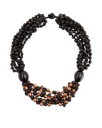 Eskandar - Multicolor Copper And Acai Bead Necklace - Lyst