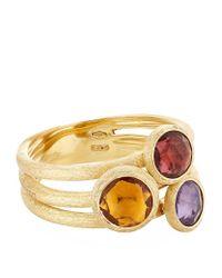 Marco Bicego - Metallic Jaipur Triple Stone Ring - Lyst