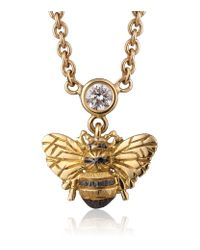Theo Fennell - Metallic Bee Necklace - Lyst
