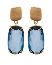 Marco Bicego | Blue Murano Topaz Drop Earrings | Lyst