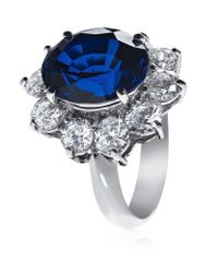 Carat* - Blue Royal Engagement Sapphire Ring - Lyst