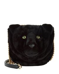 Dolce & Gabbana | Black Panther Head Shoulder Bag | Lyst
