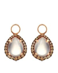 Annoushka | White Rose Quartz Earring Drops | Lyst