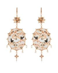 Annoushka | Metallic Dream Catcher Large Earrings | Lyst