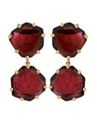 Annoushka   Red Shard Drop Earrings   Lyst