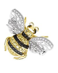 Theo Fennell - Yellow Bee Brooch - Lyst