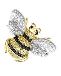 Theo Fennell | Yellow Bee Brooch | Lyst