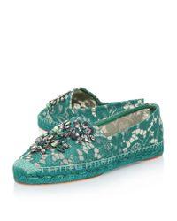 Dolce & Gabbana - Blue Liliana Espadrilles - Lyst