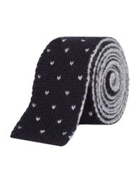 Brunello Cucinelli | Blue Knitted Cashmere Tie for Men | Lyst