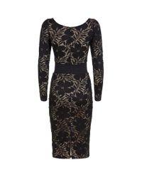 Agent Provocateur - Audrey Black Icon Dress - Lyst