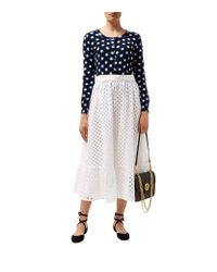 Boutique Moschino - Blue Polka-dot Cardigan - Lyst