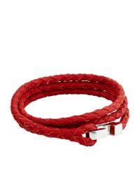 Miansai   Red Ipsum Rope Bracelet   Lyst