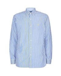 Polo Ralph Lauren - Blue Bengal Stripe Poplin Shirt for Men - Lyst