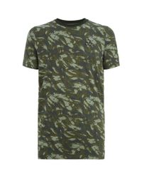 Under Armour - Green Printed T-shirt for Men - Lyst