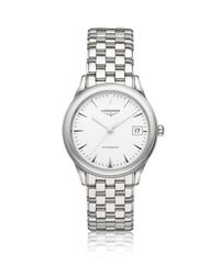 Longines | White Flagship Watch | Lyst