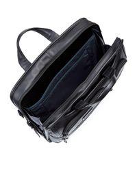 Tumi - Black Alpha 2 Large Laptop Leather Briefcase for Men - Lyst