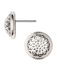 Links of London | Pink Timeless Stud Earrings | Lyst